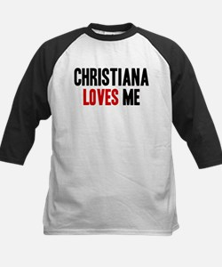 Christiana loves me Tee