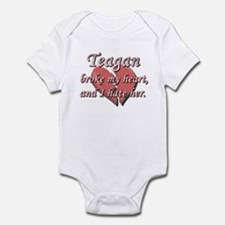 Teagan broke my heart and I hate her Infant Bodysu