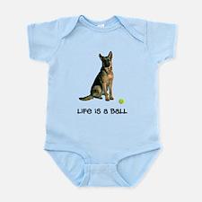 German Shepherd Life Infant Bodysuit