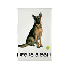 German Shepherd Life Rectangle Magnet