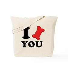 I Bone You Tote Bag