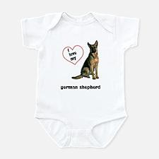 German Shepherd Lover Infant Bodysuit