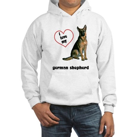 German Shepherd Lover Hooded Sweatshirt