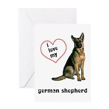 German Shepherd Lover Greeting Card