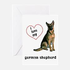 German Shepherd Lover Greeting Cards (Pk of 10)