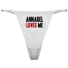 Annabel loves me Classic Thong