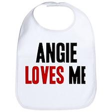 Angie loves me Bib