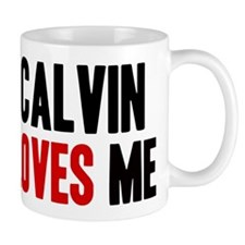 Calvin loves me Mug