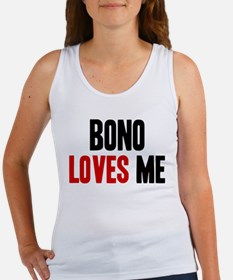 Bono loves me Women's Tank Top