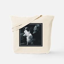 Japanese Chin Photograph Tote Bag