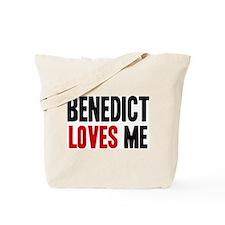 Benedict loves me Tote Bag