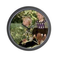 Cool Fairy writer Wall Clock