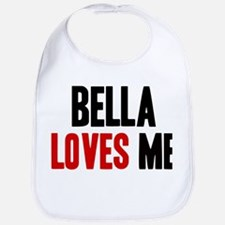 Bella loves me Bib