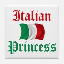 Italian Princess 2 Tile Coaster