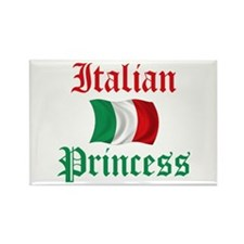 Italian Princess 2 Rectangle Magnet