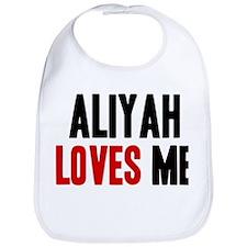 Aliyah loves me Bib