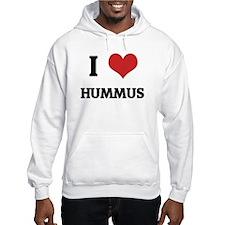 I Love Hummus Hoodie