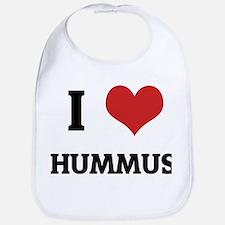I Love Hummus Bib