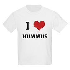 I Love Hummus Kids T-Shirt