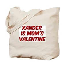 Xanders is moms valentine Tote Bag