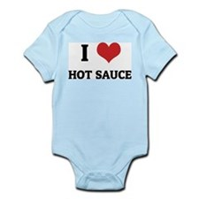 I Love Hot Sauce Infant Creeper