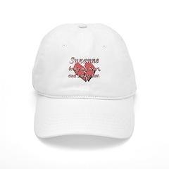 Suzanne broke my heart and I hate her Baseball Cap