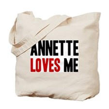 Annette loves me Tote Bag