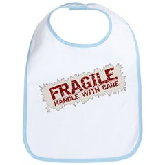 Fragile-Handle With Care - Bib