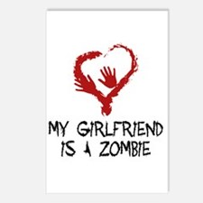 Zombie Romance Postcards (Package of 8)