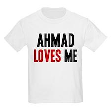 Ahmad loves me T-Shirt