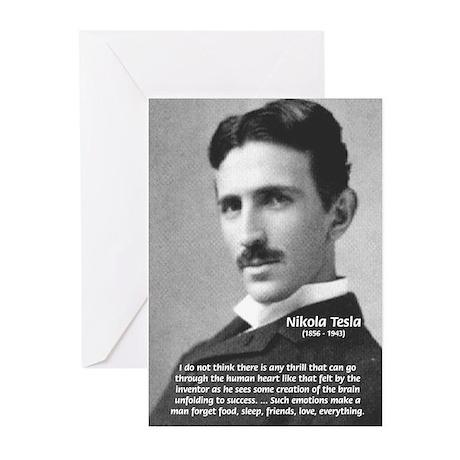 Nikola Tesla Greeting Cards (Pk of 10)