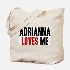 Adrianna loves me Tote Bag