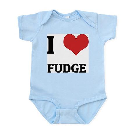 I Love Fudge Infant Creeper