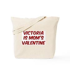 Victorias is moms valentine Tote Bag