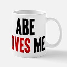 Abe loves me Mug