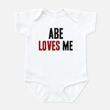 Abe loves me Infant Bodysuit