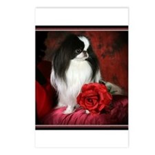 Japanese Chin & Rose Postcards (Package of 8)