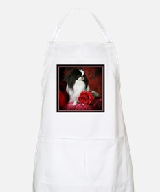 Japanese Chin & Rose BBQ Apron