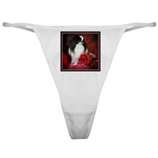 Japanese Chin & Rose Classic Thong