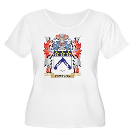 Tumasian Coat of Arms - Family C Plus Size T-Shirt