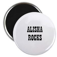 ALISHA ROCKS Magnet