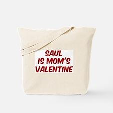 Sauls is moms valentine Tote Bag