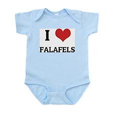 I Love Falafels Infant Creeper