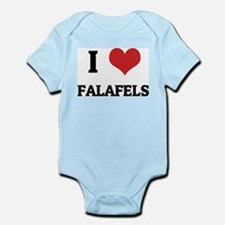 I Love Falafels Infant Creeper