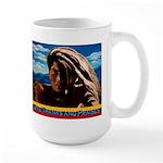Give Thanks and Praises Rastafarian Large Mug