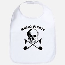 MUSIC PIRATE Bib