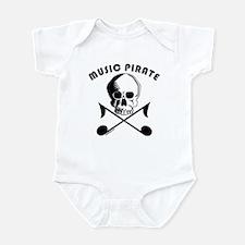 MUSIC PIRATE Infant Bodysuit