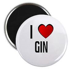 I LOVE GIN Magnet