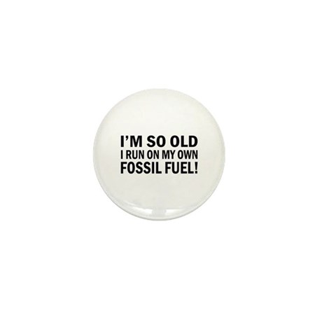 Old Age Humor Mini Button (10 pack)