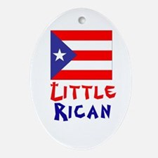 Little Rican Oval Ornament
